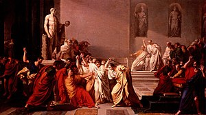 "Morte di Giulio Cesare (""Death of Julius ..."