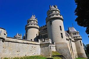Vue generale du chateau de Pierrefonds