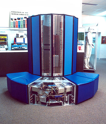 Cray X-MP/24 (serial no. 115) used by NSA