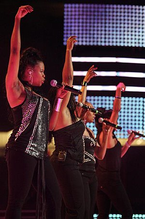 Picture of En Vogue at the Essence Music Festival.
