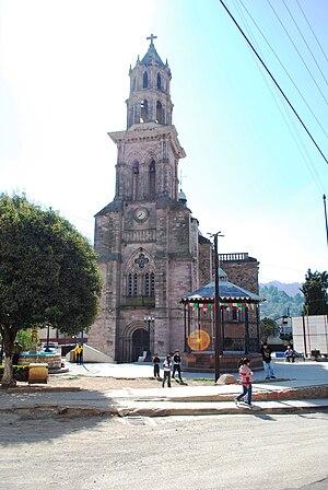 English: Facade of the Inmaculada Concepcion c...