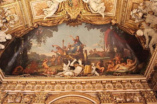 Galerie d'Appolllon Le Triomphe de Cybèle par Guichard