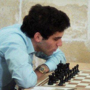 English: Garry Kasparov 1980, Chess Olympiad i...