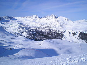 Grau Roig sector in ski resort GrandValira (An...