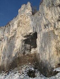 Burghöhle von Norden
