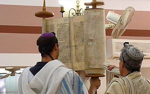 raise of the Scroll of the Torah.