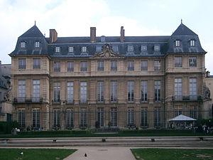 Musée Picasso, Paris, (Hotel Salé, 1659)
