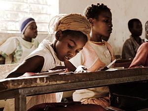 English: children in school