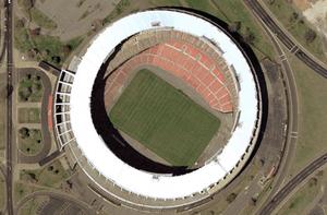 RFK Stadium satellite view, nasa world wind 1.3.5