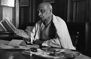 ca. 1940, Probably India --- Vallabhbhai Patel...