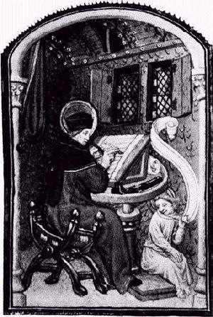 Paul Pierce within an illustration of a Mediæv...