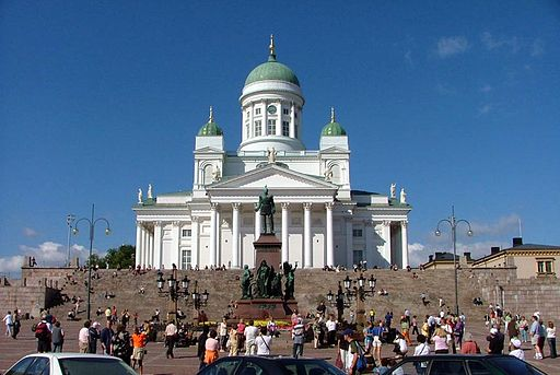 Senate Square and Lutheran Cathedral in Helsinki
