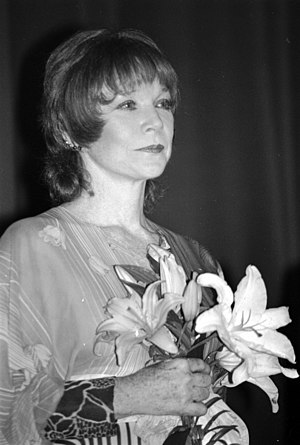 Français : L'actrice américaine Shirley MacLai...