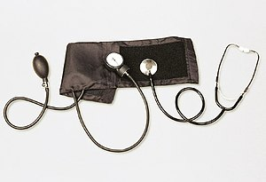 doctorfoodtruth picture of blood pressure cuff and stethoscope