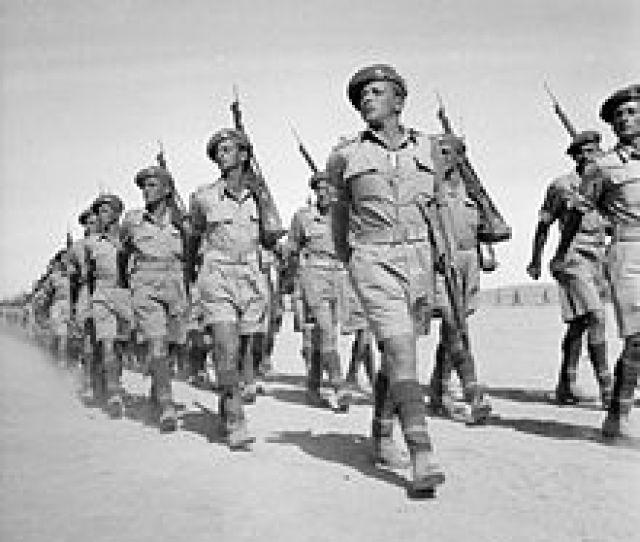 1st Battalion Of The Jewish Brigade On Parade