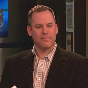 Photo of author Vince Flynn taken by Phil Kons...