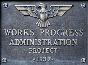 """Works Progress Administration Project 19..."