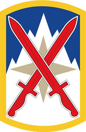 English: 10th Sustainment Brigade shoulder sle...