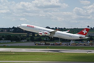 Swiss International Air Lines Airbus A340-300 ...