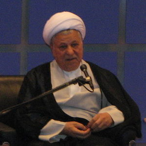 English: Akbar Hashemi Rafsanjani. Chairman of...