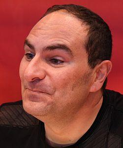 Christophe Arleston au Salon du livre de Paris en mars2010