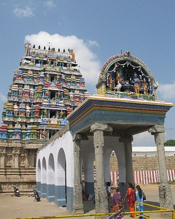 English: brahma temple in tirupattur