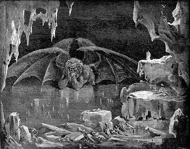 Dante's Inferno; Lucifer, King of Hell