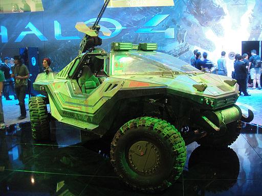 E3 Expo 2012 - Microsoft booth - Halo 4 warthog
