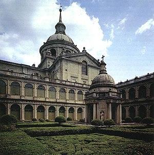 Patio de los Evangelistas - Monasterio de El Escorial