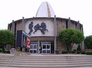 Pro Football Hall of Fame, at Canton, Ohio, Un...