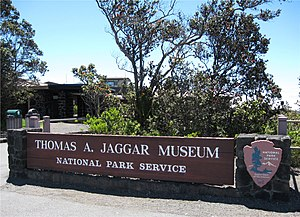English: The Thomas A. Jaggar Museum at Hawaii...