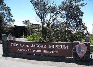 English: The Thomas A. Jaggar Museum at Hawaii...