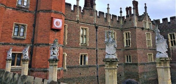 King's Beasts - Hampton Court Palace - Joy of Museums - 2