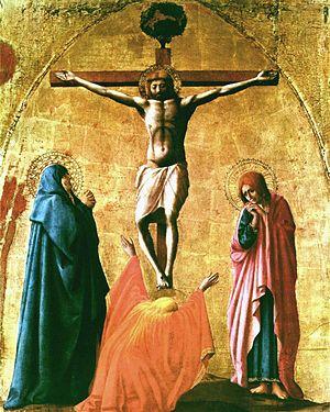 Masaccio, Crucifixion