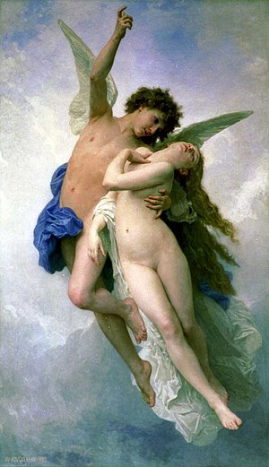 Psyche et L'Amour (Psyche and Amor). William-A...