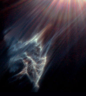 Reflection nebula IC 349 near Merope in the Pl...