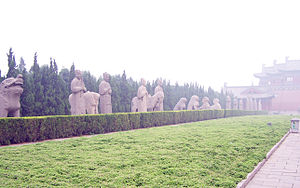 Emperors tombs of Song dynasty in Henan Provin...