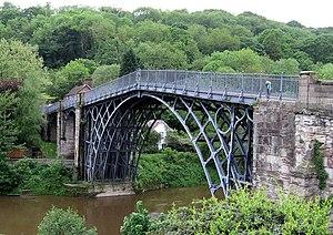 English: The Ironbridge