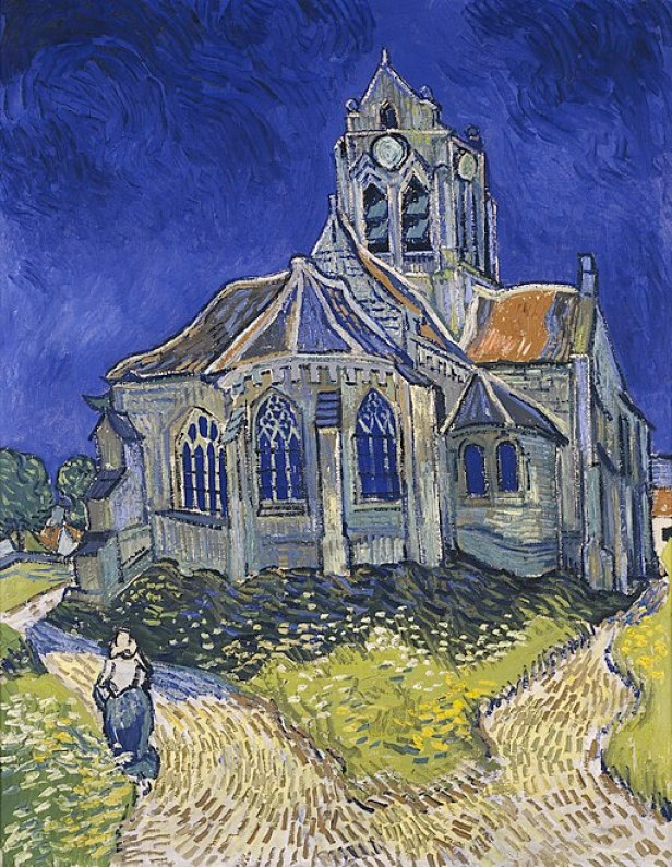 """The Church at Auvers"" by Vincent van Gogh"