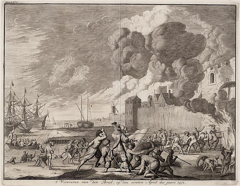 File:´t Veroveren van Den Briel, op den eersten april des jaars 1572 (Jan Luyken, 1679).jpg