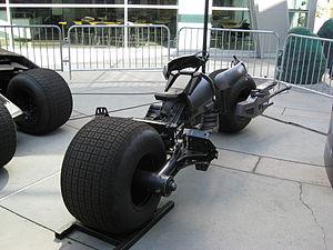 The Batpod at Hollywood, California