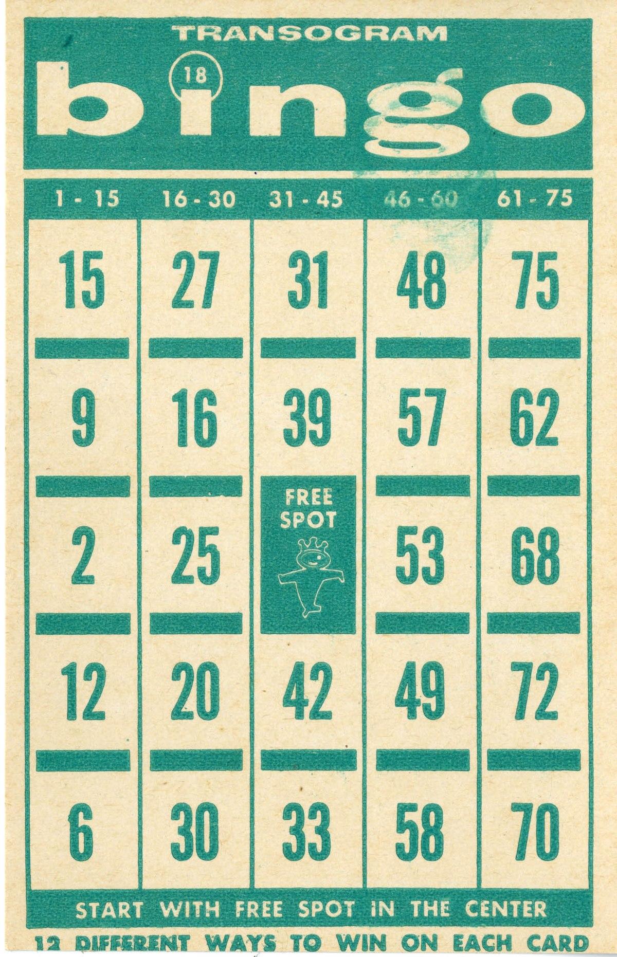 Bingo Wikipedia