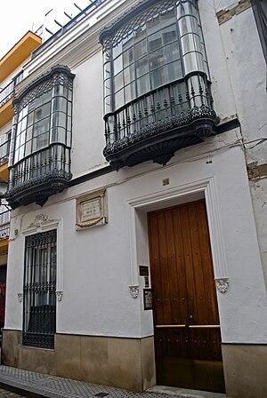 Español: Casa natal del poeta Gustavo Adolfo B...