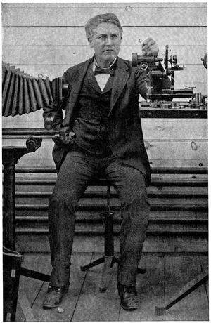 Thomas A. Edison, 1893.