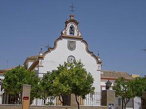 Español: Iglesia en El Cuervo de Sevilla