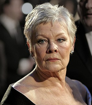 Judi Dench at the BAFTAs at the Royal Opera Ho...