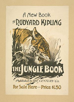 "The book poster for ""The Jungle Book,&quo..."
