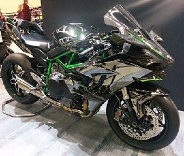Kawasaki Ninja H2r Seattle Motorcycle Show Jpg