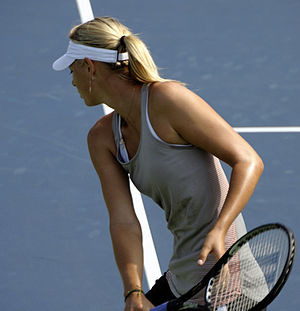 Maria Sharapova at the 2009 US Open
