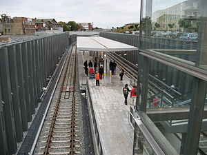Øresund Station at the Copenhagen Metro, Denmark
